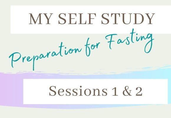 Center of Fasting Sessions 1 & 2
